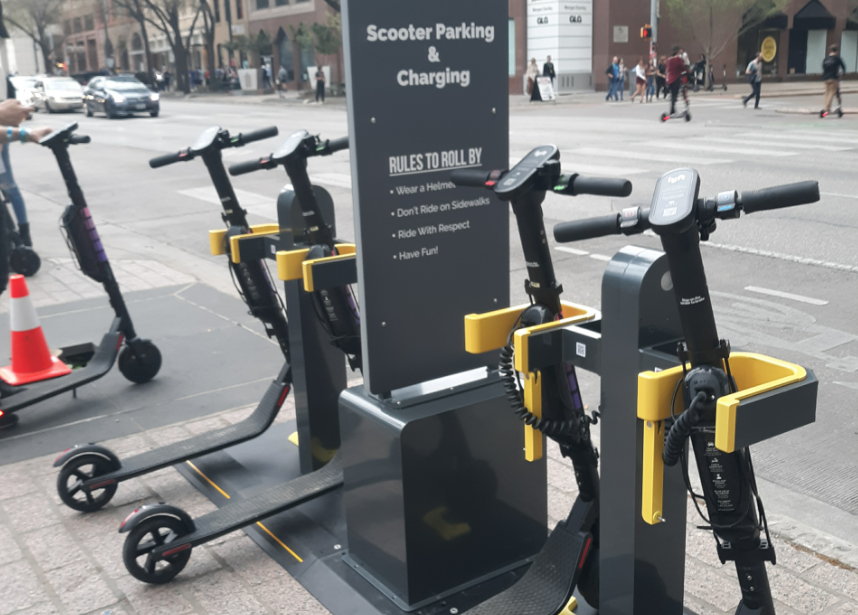 TechCrunch: Swiftmile will become the 'gas station' for electric bikes and scooters in Austin